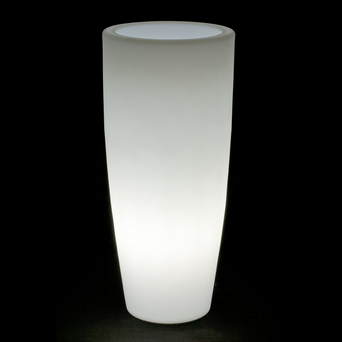 LED Leuchtopf Blumentopf Beleuchtet Bambu Light 40 Cm