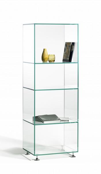 Regal aus Glas, hochwertige Handarbeit, Glasstärke 10 / 4 mm