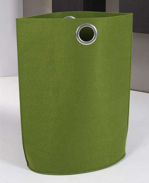 Designer Wäschetasche / Wäschesack aus Filz, B 60 x T 30 x H 70 cm, in 4 Farben erhältlich