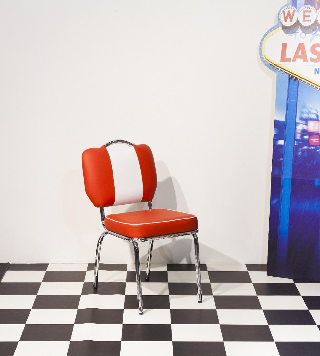 bistrostuhl louisiana 4 teiliges set retro 50er. Black Bedroom Furniture Sets. Home Design Ideas