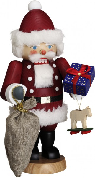 """Nussknacker """"Weihnachtsmann"""", aus Holz, dunkelrot, Höhe 30 cm"""