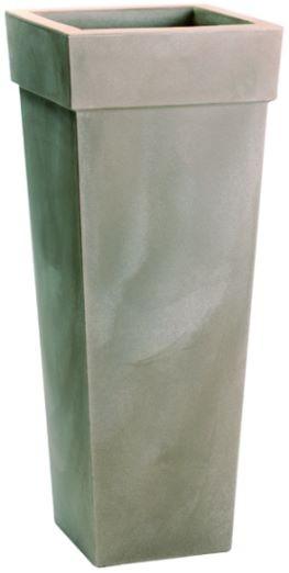 Blumentopf / Pflanztopf, Geryon, 40 x 40 x 100 cm, matt, 41 l Inhalt, in 5 Farben, für Innen und Außen, aus hochwertigem Polyethylen