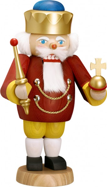 "Nussknacker ""König"", aus Holz, rot, Höhe 29 cm"