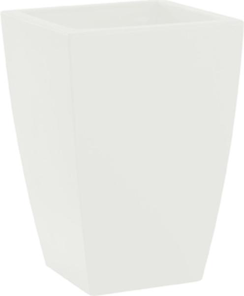 Blumentopf / Pflanztopf, Logos, 40 x 40 x 57 cm, matt, 22 l Inhalt, für Innen und Außen, aus hochwertigem Polyethylen, in 3 Farben