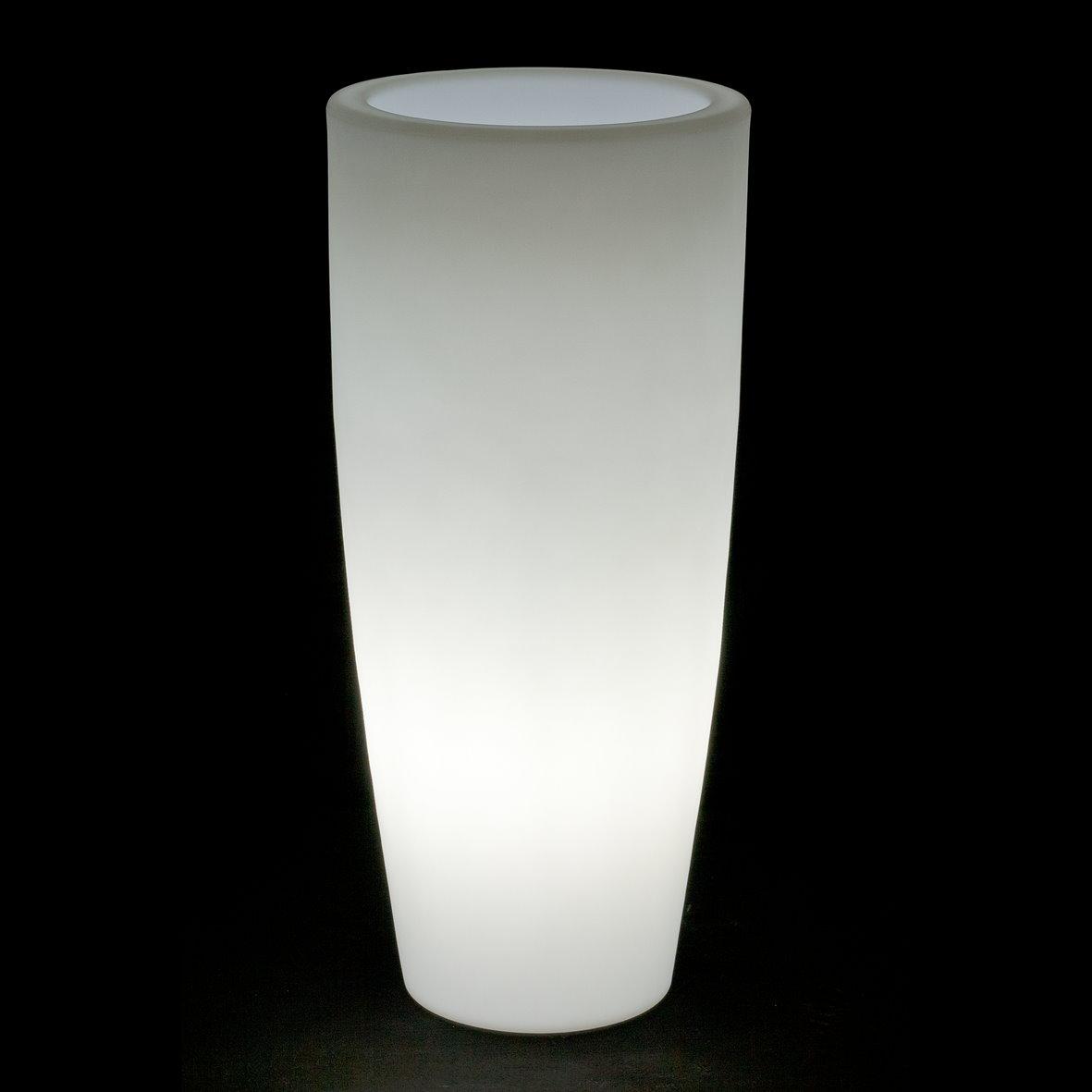 leuchttopf blumentopf beleuchtet bambu light 40 cm. Black Bedroom Furniture Sets. Home Design Ideas