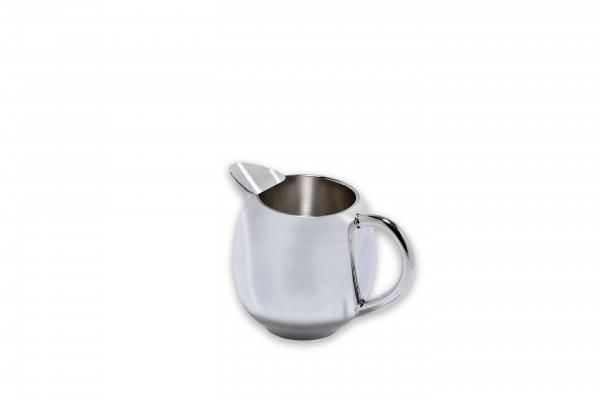 Milchgießer, versilbert, Höhe ca. 7,5 cm