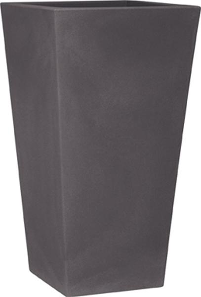 Blumentopf / Pflanztopf, Eros, 38 x 38 x 80 cm, matt, 26 l Inhalt, in 3 Farben, für Innen und Außen, aus hochwertigem Polyethylen