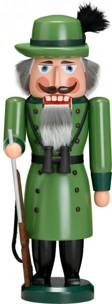 """Nussknacker """"Förster"""", aus Holz, grün, Höhe 37 cm"""