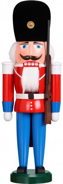 "Nussknacker ""Däne"", aus Holz, weiß, Höhe 39 cm"