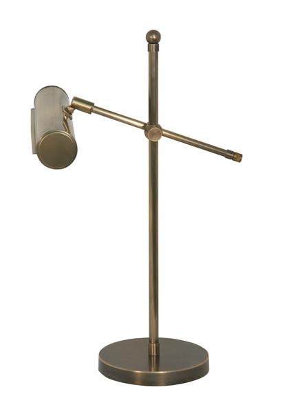 Klavierleuchte, Modern Stil, Messing antik-handpatiniert (Altmessing), Höhe 46 cm, Breite 29,5 cm, 230 V, E14 40 W