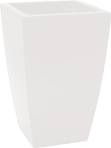 Blumentopf / Pflanztopf, Logos, 30 x 30 x 43 cm, glänzend, 27 l Inhalt, für Innen und Außen, aus hochwertigem Polyethylen, in 7 Farben
