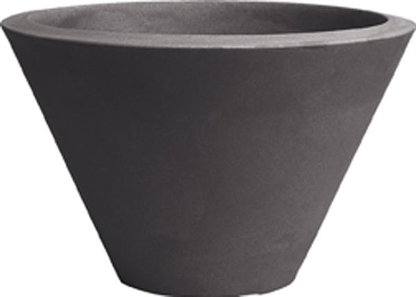 Blumentopf / Pflanztopf, Chiron, Ø 50, Höhe 29 cm, matt, 30 l Inhalt, in 3 Farben, für Innen und Außen, aus hochwertigem Polyethylen